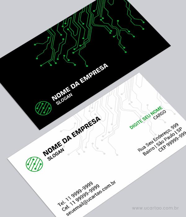 Cartão De Visita De Informática E Tecnologia A Partir R 5000